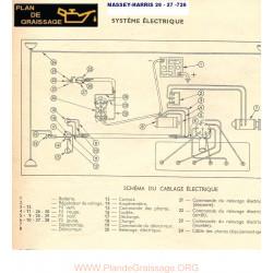 Massey Harris 26 27 726 Schema Electrique