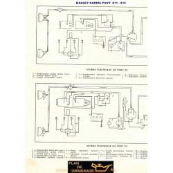 Massey Harris 811 812 Schema Electrique