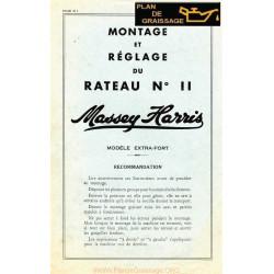 Massey Harris Reglage Rateau 11