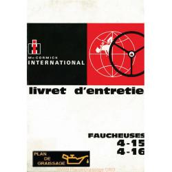 Mc Cormick International 4 15 4 16 Faucheuse Latterale