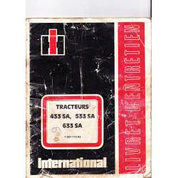 Mc Cormick International 433sa 533sa 633sa