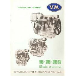 motori Vm Moteur Diesel 195 295 395 Sv