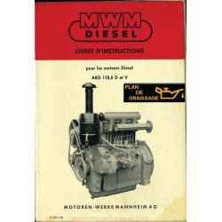 Mwm Akd 110 5d V Moteur