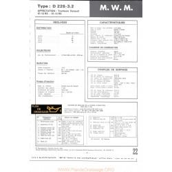 Mwm D226 3 2 Moteur