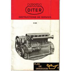 Mwm D325 Moteur