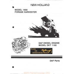 New Holland 1160 Dkt Daf Diesel