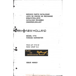 New Holland 1770 700 1001 Forage Harvester