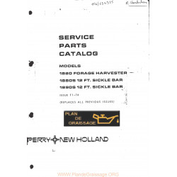 New Holland 1880 Forage Harvester