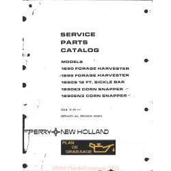 New Holland 1890 1895 Forage Harvester