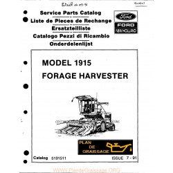 New Holland 1915 Forage Harvester