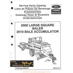 New Holland 2000 2010 Baler Accumulator