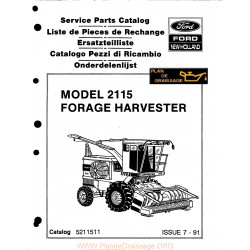New Holland 2115 Forage Harvester
