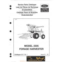 New Holland 2305 Forage Harvester