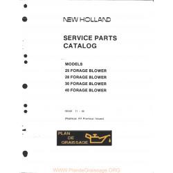 New Holland 25 28 30 40 Forage Blower
