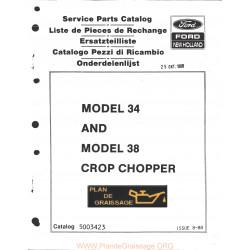New Holland 34 38 Crop Chopper