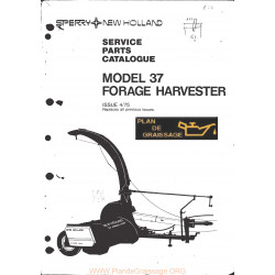 New Holland 37 4nh 5264 Forage Harvester