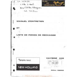 New Holland 446 Haybine