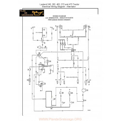 Nuffield Wiring Diagram 245 472 Alternator