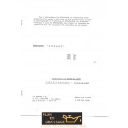 Pasquali 930 935 945 Notice