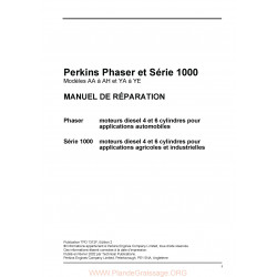 Perkins 1000 Aa Ah Ya Ye Moteur