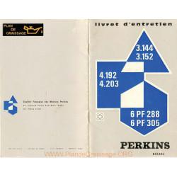 Perkins 3 144 3 152 4 192 4 203 6pf288 6pf305 Moteur