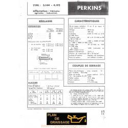 Perkins 3 144 Et 4 192 Moteur