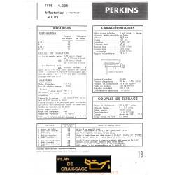 Perkins 4 236 Caracteristique Moteur