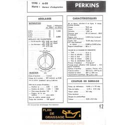 Perkins 4 99 Caracteristique Moteur