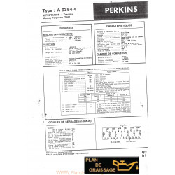 Perkins 6354 4 Moteur