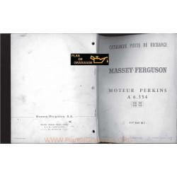 Perkins A6 354 Moteur