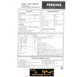 Perkins Ad 3 152 S Moteur