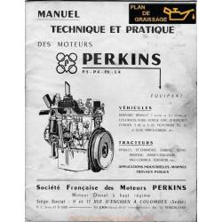 Perkins P3 P4 P6 L4 Moteur
