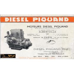 Piquand Pa2 Pa3 Moteur