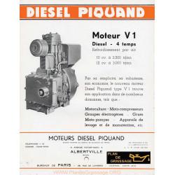 Piquand V1 Moteur
