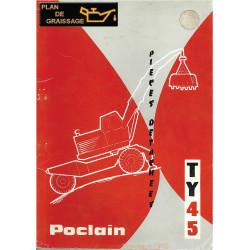 Poclain Ty45 Pieces