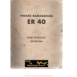 Rivierre Casalis Er 40 Ramasseuse