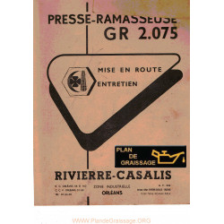 Rivierre Casalis Gr 2 075 Ramasseuse