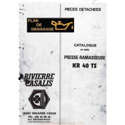 Rivierre Casalis Kr 40 Ts Ramasseuse