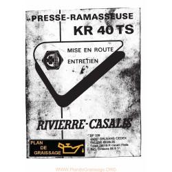 Rivierre Casalis Kr40 Ramasseuse
