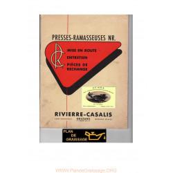 Rivierre Casalis Nra 1060 2075 2100 Ramasseuses
