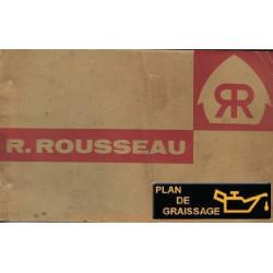 Rousseau D852 D55 D852b E852 E552b Ramasseuse