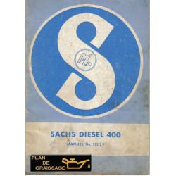 Sachs 400 Moteur