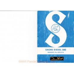 Sachs 500 Utilisation Moteur