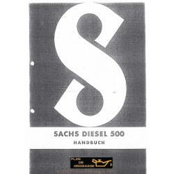 Sachs 500d Handbuch Moteur