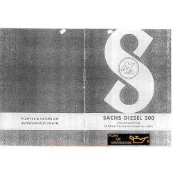 Sachs 500d Repanw Moteur