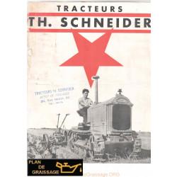 Schneider E2 E5 N11 N14 N15 N16 Chenillards