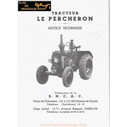 Sncac Percheron Tracteur