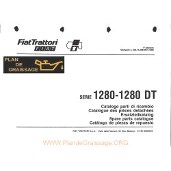 Someca 1280 Dt Tracteur List Pieces