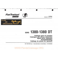 Someca 1380 Dt Tracteur List Pieces