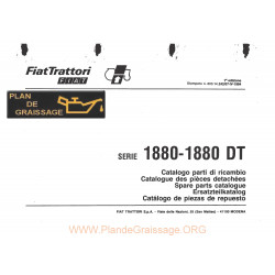 Someca 1880 Dt Tracteur List Pieces